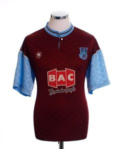West Ham Home Shirt 1989