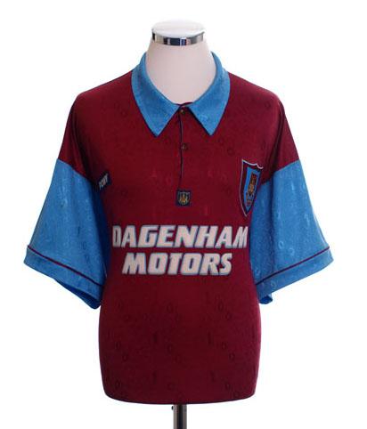 West Ham Retro Shirts 1995
