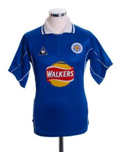 Leicester City Retro Shirts home 2000
