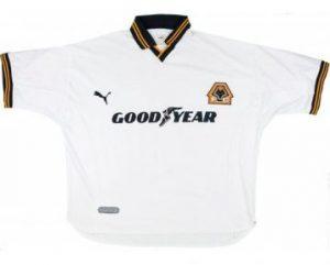 Wolves Away Shirt 1999