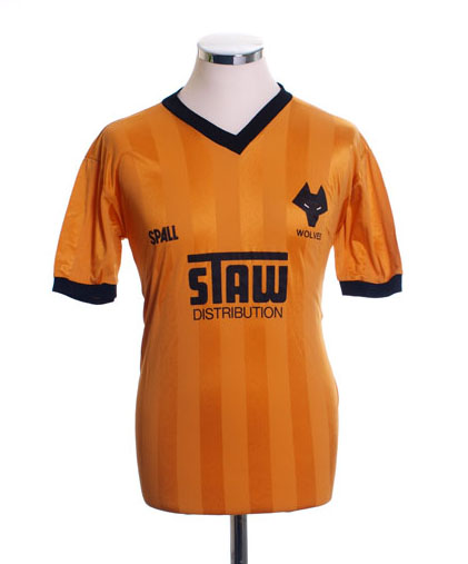 Wolves Home Shirt 1986