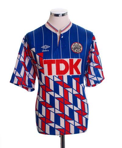 Retro Ajax Shirt 1989 away