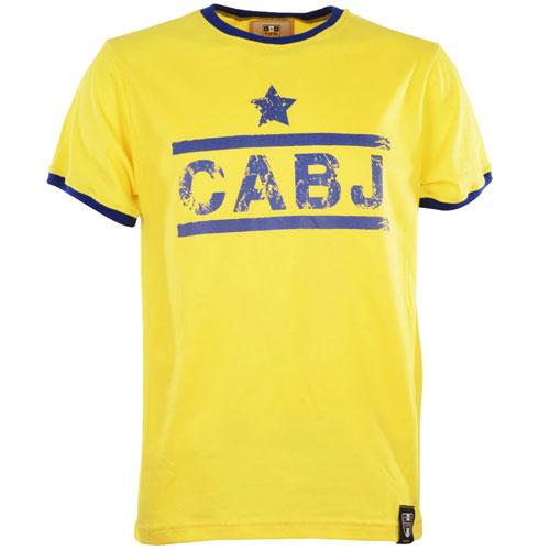 Boca Juniors retro shirt ringer