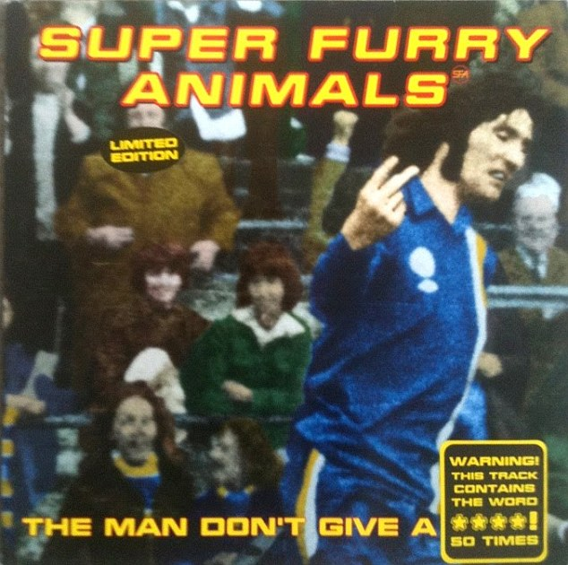 The Super Furry Animals single cover featuring Robin Friday