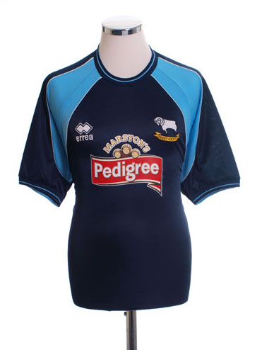 Classic Derby County Shirts 2001 away shirt