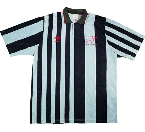 Classic Derby County Shirts 1989 home
