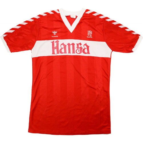Classic Middlesbrough Shirts 1984 home
