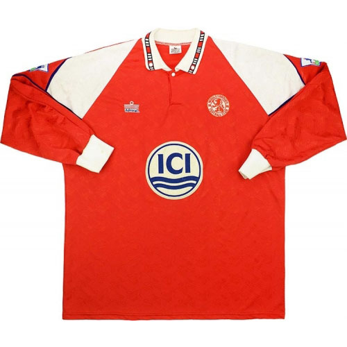 Middlesbrough 1992 home shirt