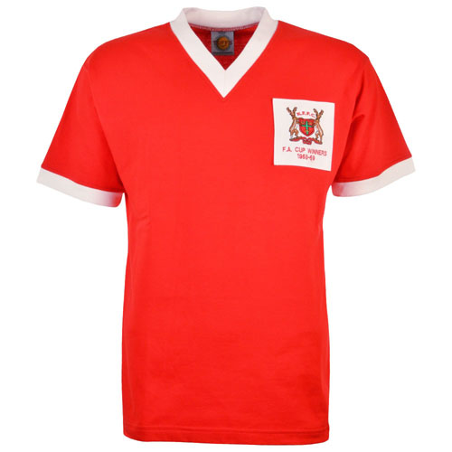 Nottingham Forest Retro Shirts 1959 Cup Final