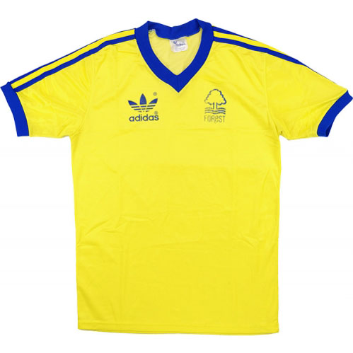 Nottingham Forest Retro Shirts 1977 away