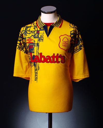 Nottingham Forest 1995 Away Shirt