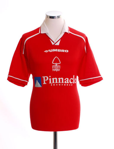 Nottingham Forest Retro Shirts 1998 home