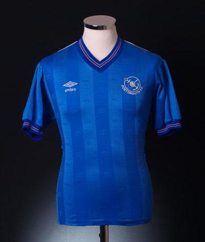 Retro Portsmouth Shirt 1985 home