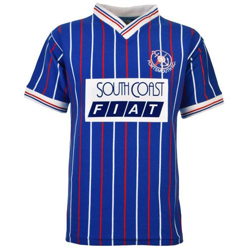Retro Portsmouth Shirt 1987 home