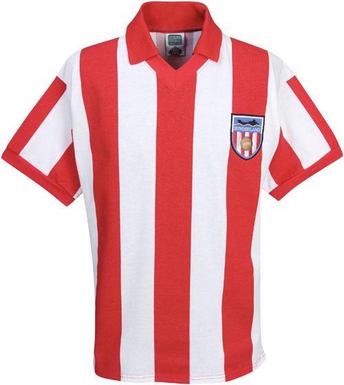 Retro Sunderland Football Shirts 1978 home