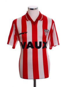 Sunderland Home Shirt 1991