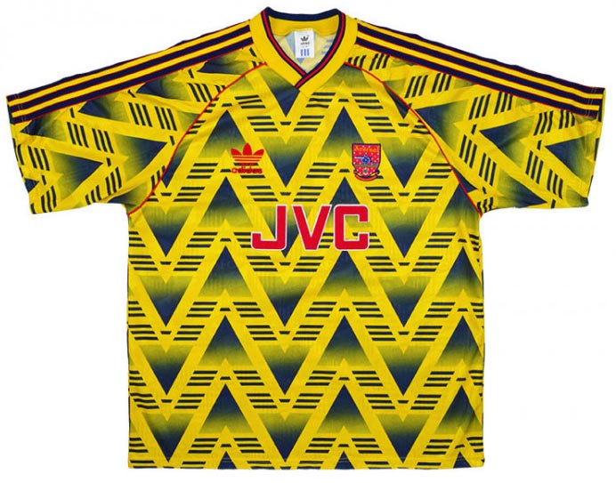 Arsenal 1992 shirt