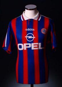 Bayern Munich Home Shirt 1995