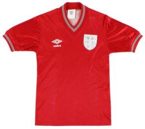 England Away Shirt 1984