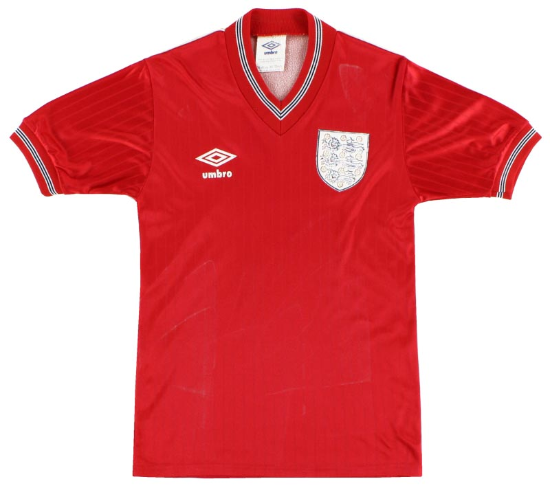 England Away Shirt 1984