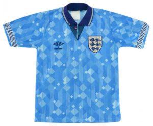 England third shirt 1990