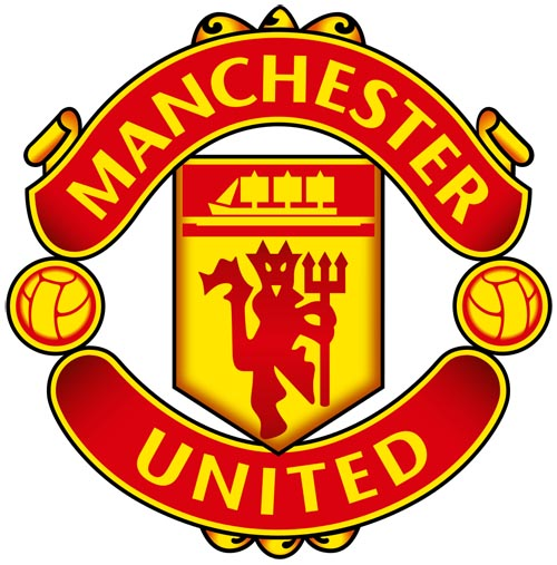 Man United badge