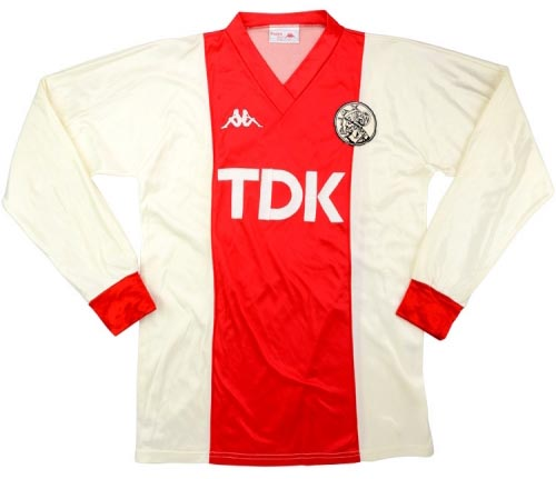Ajax Home Shirt 1985