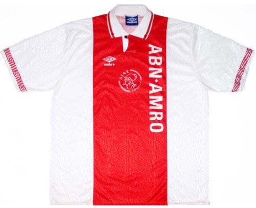Ajax Home Shirt 1991