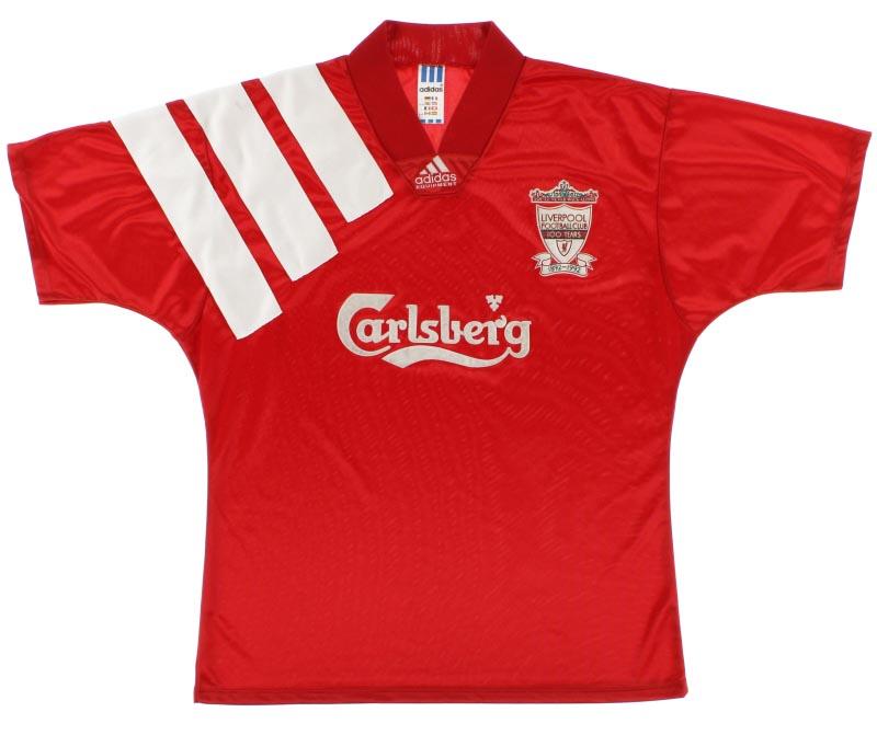 Liverpool Home Shirt 1992