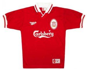 Liverpool Home Shirt 1996