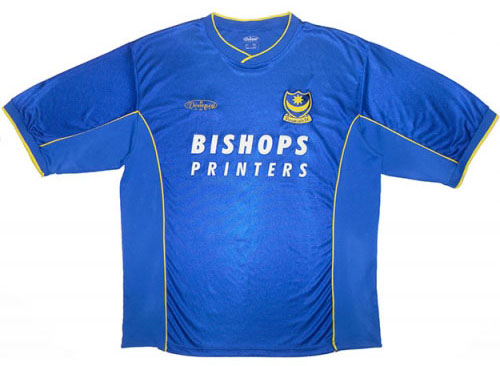 Portsmouth Home Shirt 2000