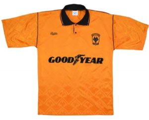 Wolves Home Shirt 1990