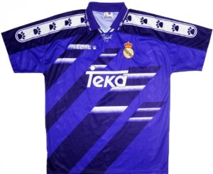 Real Madrid Away Shirt 1994