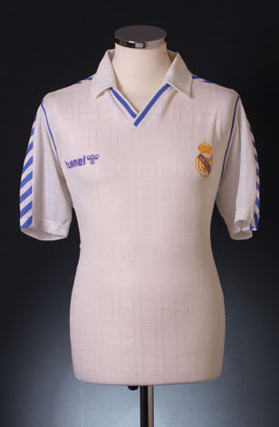 Real Madrid home shirt 1989