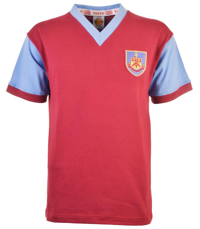 Retro Burnley 1959 home shirt
