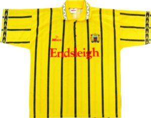 Retro Burnley 1994 Away Shirt