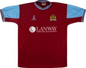 Retro Burnley 2001 Home Shirt