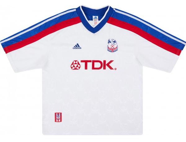 Crystal Palace retro away shirt 1998