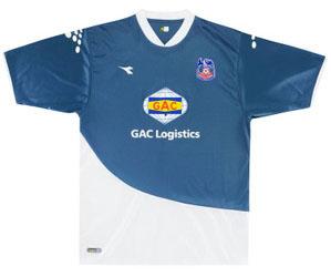 Crystal Palace retro away shirt 2006