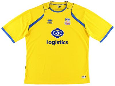 Crystal Palace retro away shirt 2008