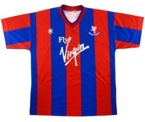 Crystal Palace retro home shirt 1989