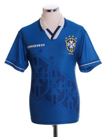 Retro Brazil Away Shirt 1994