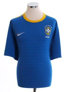Retro Brazil Away Shirt 2010
