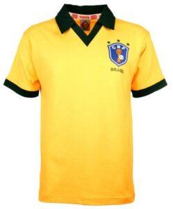 Retro Brazil Home Shirt 1986