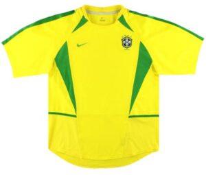 Retro Brazil Home Shirt 2002
