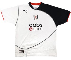 Retro Fulham 2003 home shirt