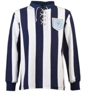 Retro West Brom Shirt 1931 FA Cup Final Shirt