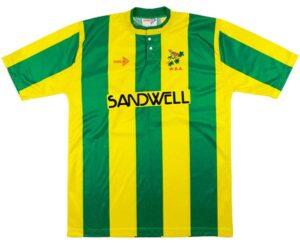 Retro West Brom Shirt 1990 Away Shirt