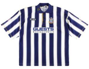 Retro West Brom Shirt 1994 Home Shirt