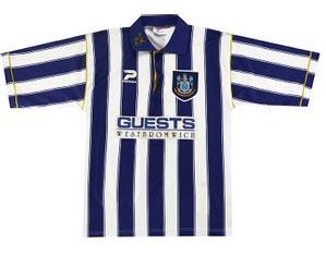 Retro West Brom Shirt 1995 Home Shirt